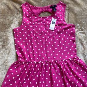 Gap Kids Midi Polka Dot Dress